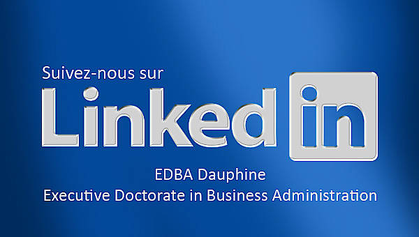 Executive Doctorate in Business Administration Paris Dauphine Linkedin