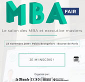 Salon MBA Fair Le Monde : retrouvez les Executive MBA, MBA, Executive Master et Master de Dauphine Executive Education (formation continue de l'Université Paris Dauphine-PSL
